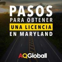 pasos para obtener una licencia en maryland